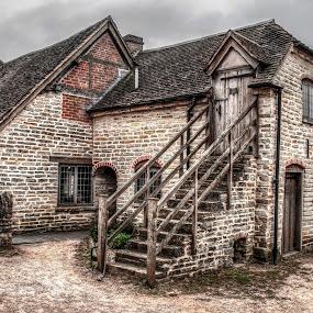Mary Arden's farm  by Ian Flear - Buildings & Architecture Public & Historical