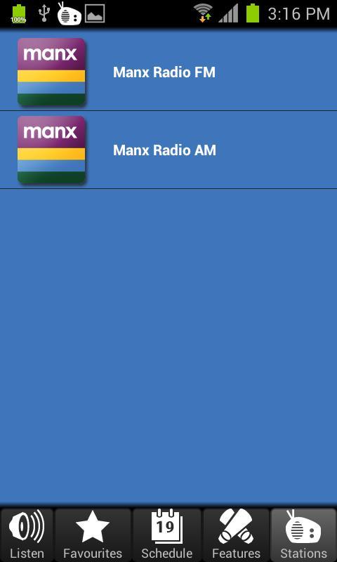 Manx Radio- screenshot