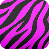 cute♪ Zebra wallpaper (pink)