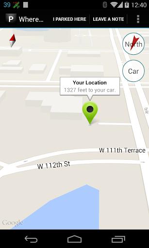 Where Did I Park