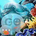 GO SMS Pro Theme water fish