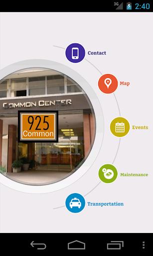 925 Common Resident App