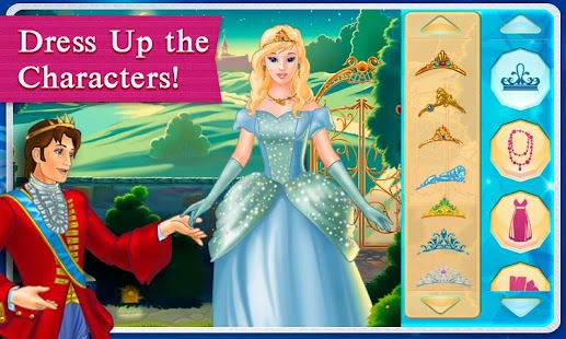 Cinderella Dress Up & Story- screenshot thumbnail