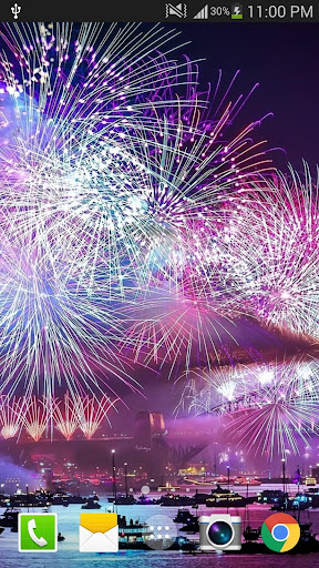 2019 Fireworks Live Wallpaper Free 1.0.5 screenshots 5