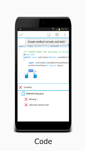 AIDE- IDE for Android Java C++ 3.2.190108 screenshots 3