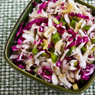 Red Rock Brewery Style No-Mayo Vinegar Coleslaw with Oregano