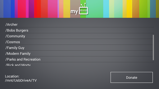 myMovies for GoogleTV