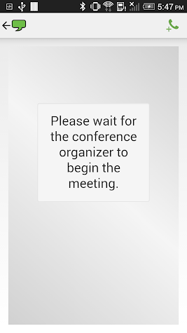 ReadyTalk Conferencing Screenshot