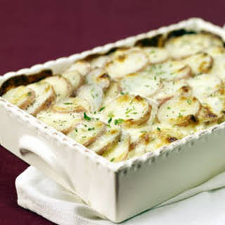 Parmesan Chive Potato Bake.