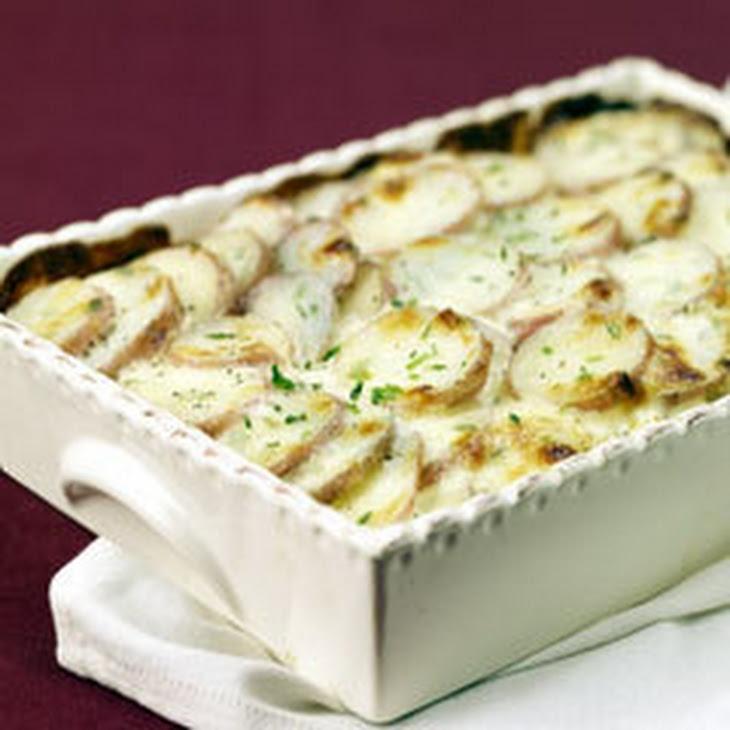 Parmesan Chive Potato Bake Recipe