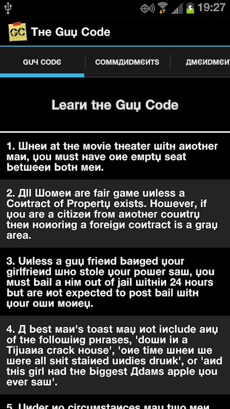 the guy code Watch guy code episodes online visit sidereel to access links to episodes, show schedules, reviews, recaps and more sign up for free tv shows calendar.