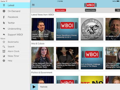 WBOI Public Radio App - screenshot thumbnail