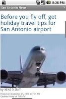 Screenshot of San Antonio News
