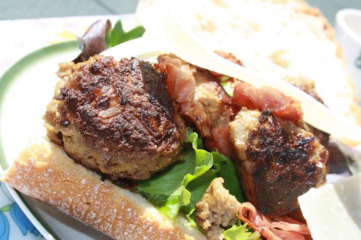 Ciabatta with Meatballs Recipe