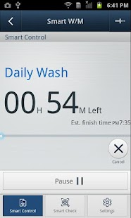 SAMSUNG Smart Washer/Dryer - screenshot thumbnail