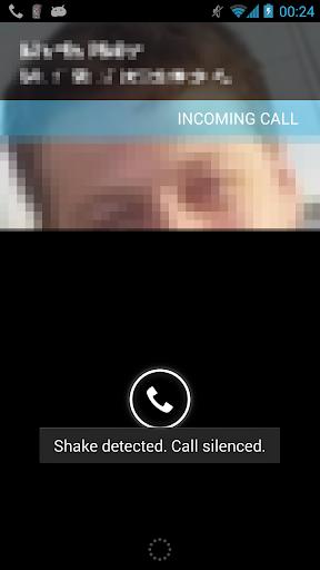 Silencer - Shake to Mute Calls  screenshots 1