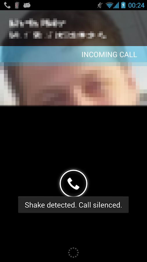 Silencer - Shake to Mute Calls- screenshot