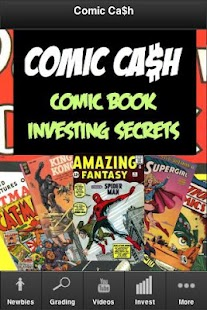 Comic Book Investing Secrets