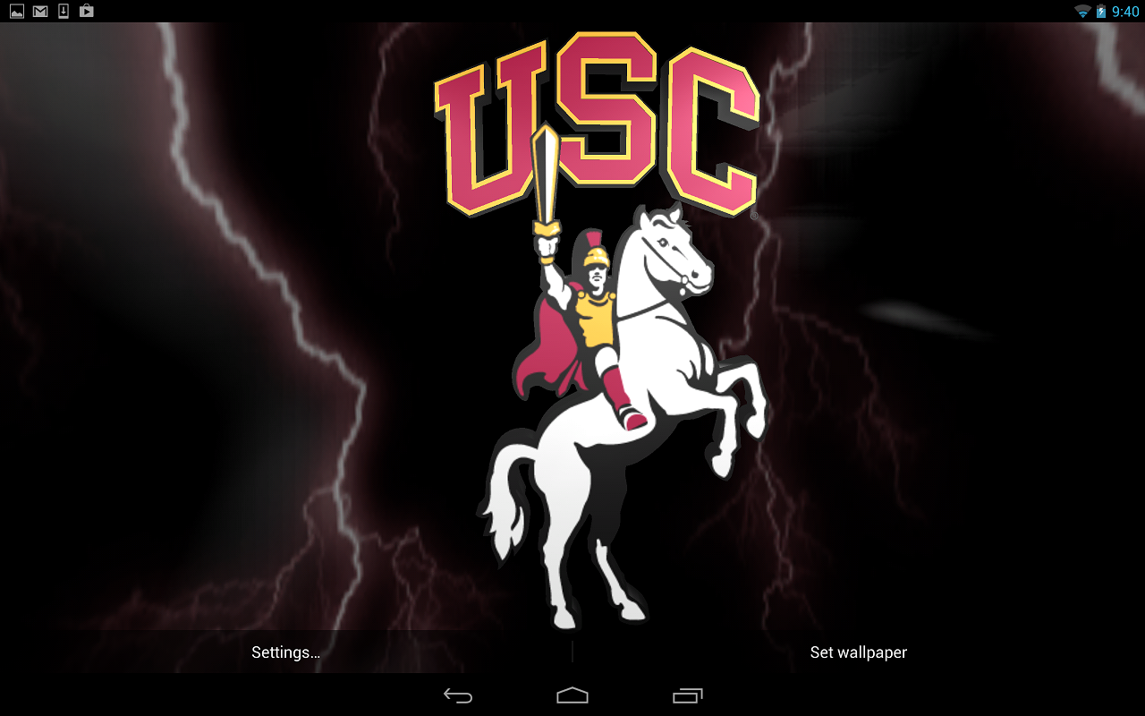 NCAA Gameday Live Wallpaper- screenshot