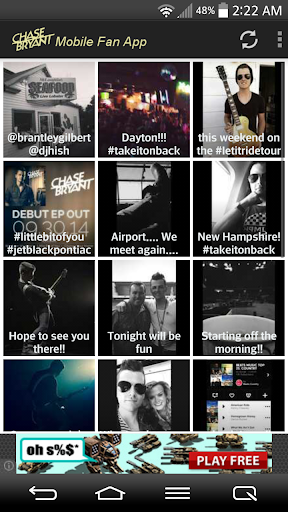 Chase Bryant Fans Mobile  screenshots 22