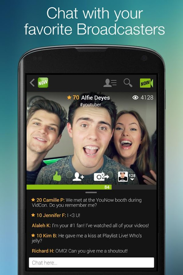 how to watch younow broadcasts again
