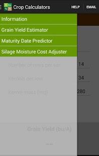 Crop Calculators - screenshot thumbnail