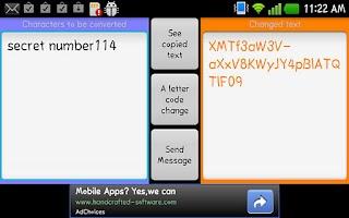 Screenshot of Send a private letter