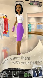 Fashion Dress Up Game- screenshot thumbnail