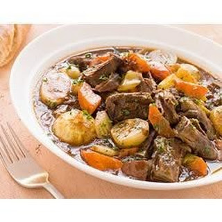 Quick Beef Stew with Root Vegetables Recipe