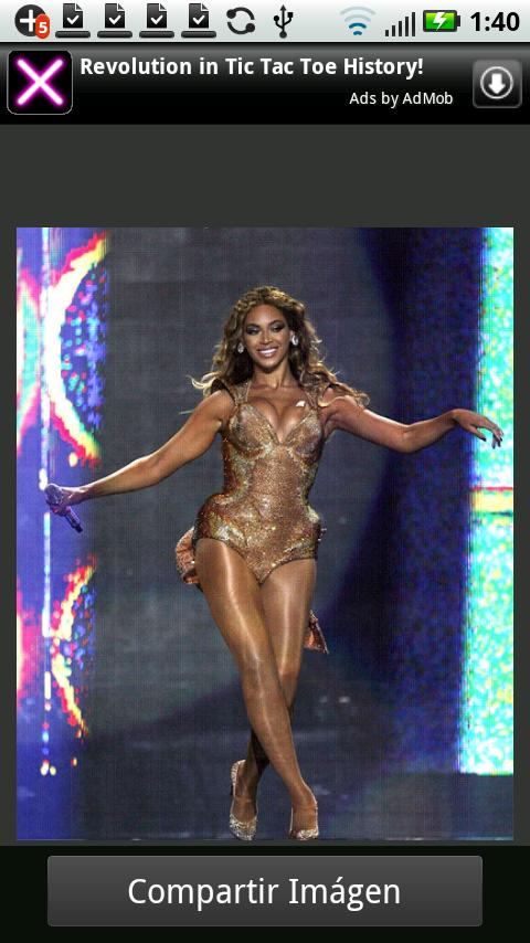 Celebrities Beyonce - screenshot