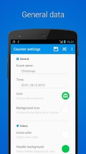 Counter Widget for Android- screenshot thumbnail