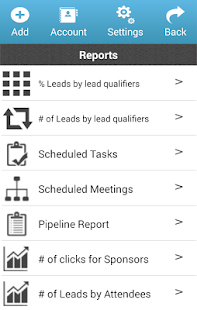 MLeads CRM- screenshot thumbnail