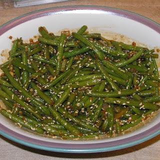 Crunchy Szechuan Green Beans