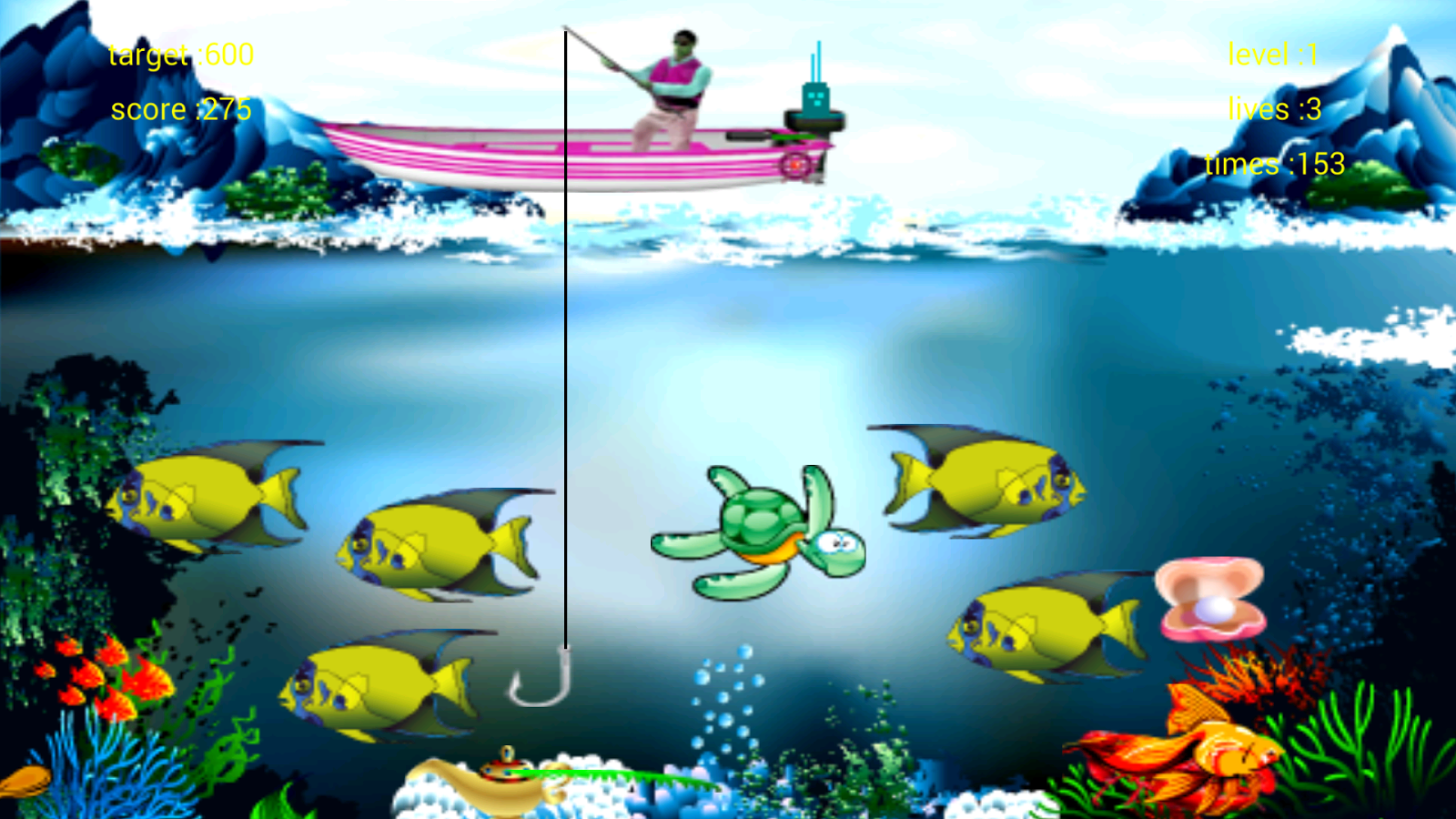 Fishing game android apps on google play for Survival fishing games