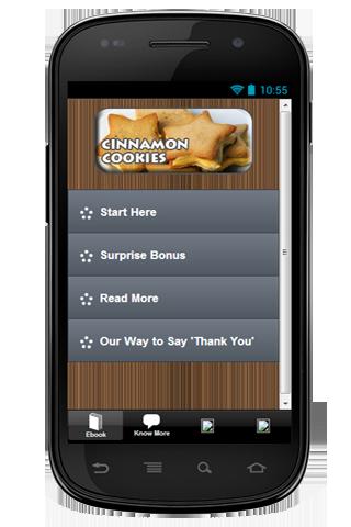 Free Recipes Cinnamon Cookies