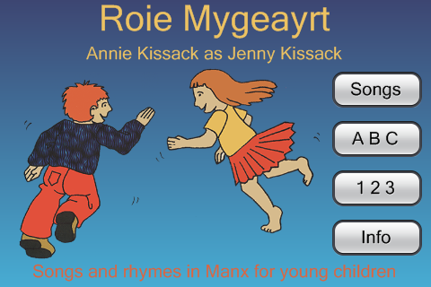 Manx Songs and Rhymes- screenshot