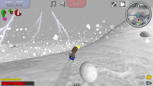 Downhill OMG 2 Ski Sled apk screenshot