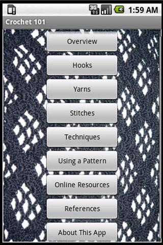 Crochet 101- screenshot
