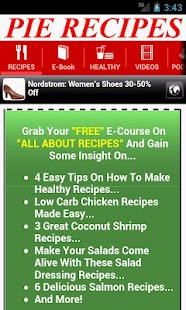 Pie Recipes - screenshot thumbnail