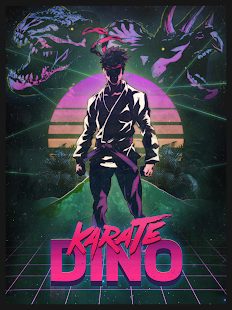 Karate Dino- screenshot thumbnail