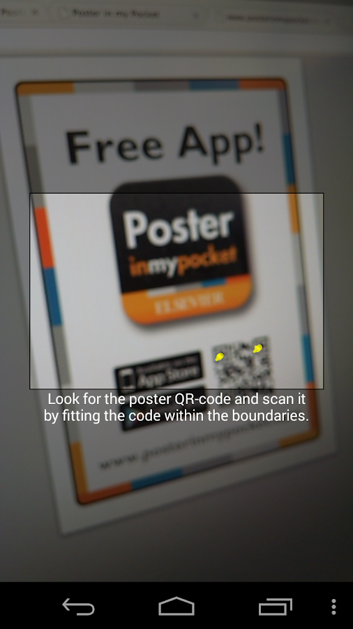 Poster in my Pocket- screenshot