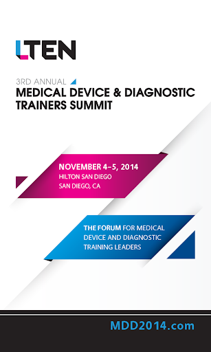 LTEN MD D Trainers Summit 2014