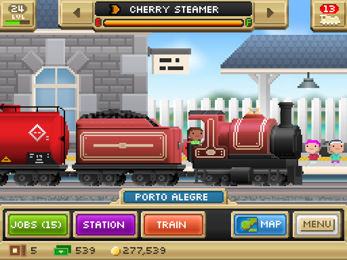 Pocket Trains - screenshot