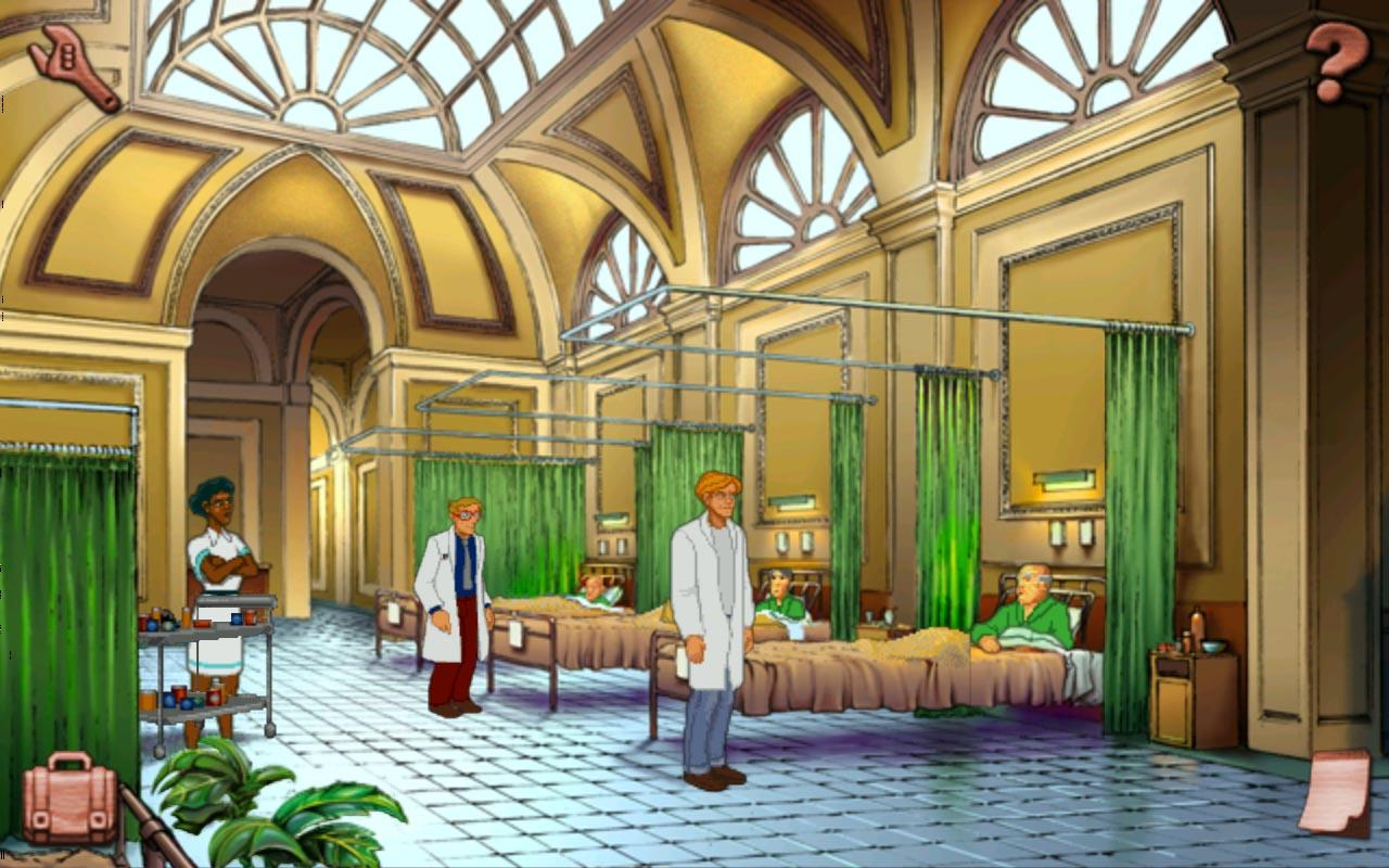 Broken Sword: Director's Cut- screenshot