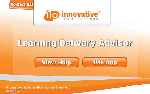 Learning Delivery Advisor