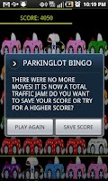 Screenshot of PARKING LOT BINGO