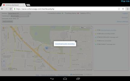 Cerberus anti theft Screenshot 20