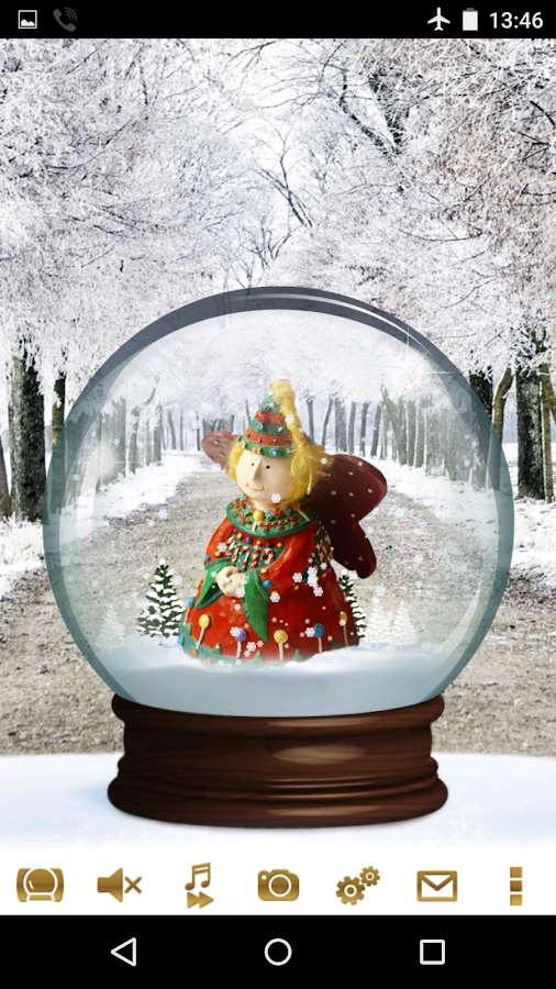 Snow Globe Winter Christmas Android Apps On Google Play