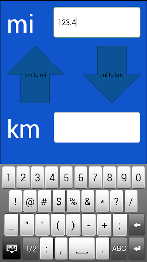 Miles Kilometers Converter  screenshots 2