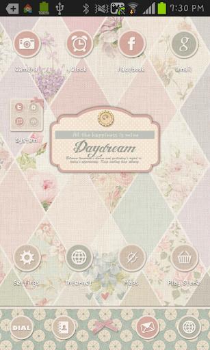 Daydream4 go launcher theme